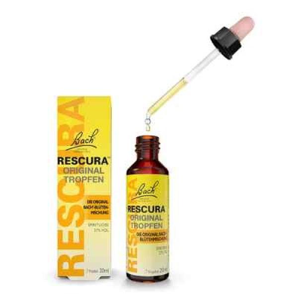 Bachblüten Original Rescura Tropfen mit Alkohol (20 ml)