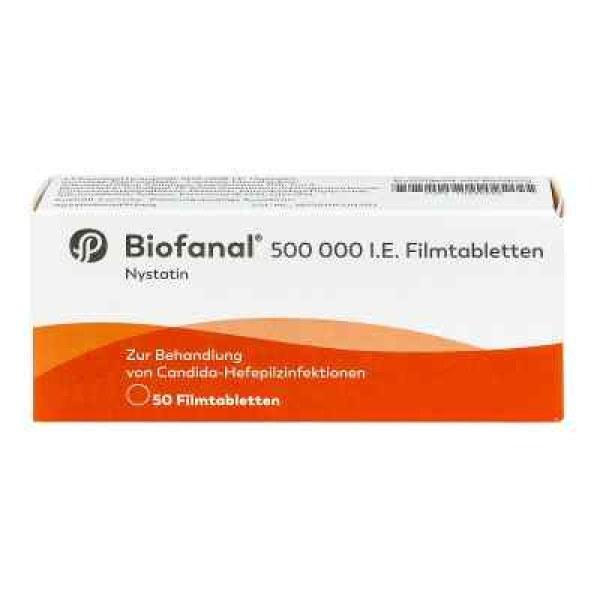 Biofanal 500 000 I.e. Filmtabletten (50 stk)