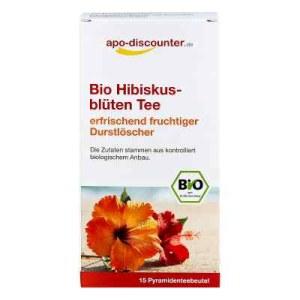 Bio Hibiskusblüten Tee Filterbeutel (15X1.5 g)