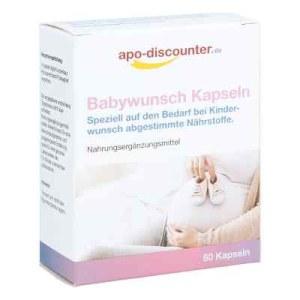Babywunsch Kapseln von apo-discounter.de (60 stk)