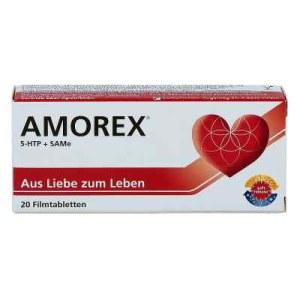 Amorex Tabletten bei Liebeskummer und Trennung (20 stk)