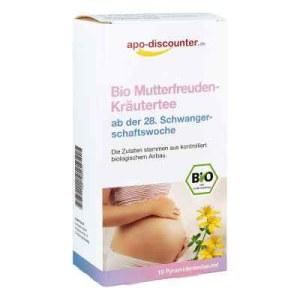 Bio Mutterfreuden-kräutertee mit Himbeerblätt.Fbtl. (15X1.5 g)