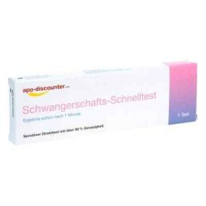 Schwangerschaftstest Schnelltest ab 25ie/l Urin (1 stk)