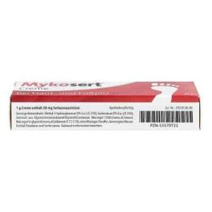 Mykosert Creme bei Haut- und Fusspilz (20 g)