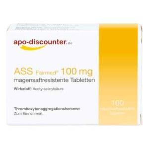 德国APO ASS 100mg(100 粒)