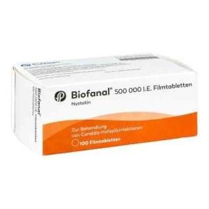 Biofanal 500 000 I.e. Filmtabletten (100 stk)