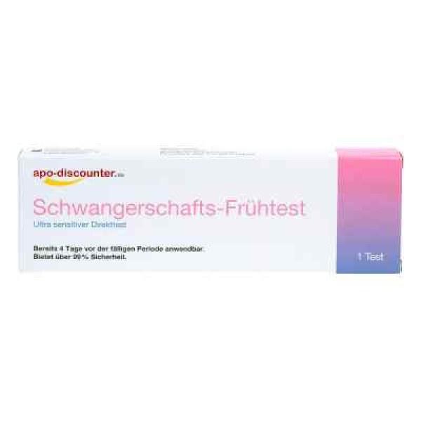 德国APO怀孕测试、早孕测试,最低 10 国际单位/升尿液(1 件)