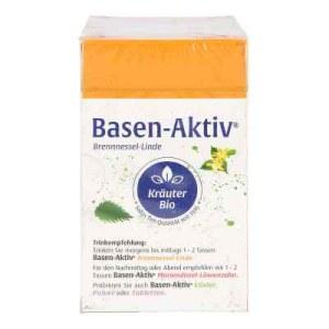 Basen Aktiv Tee Nummer 1 Brennnessel-linde Bio Salus (40 stk)