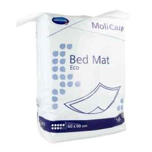 Molicare Bed Mat Eco 9 Tropfen 60x90 cm (5 stk)