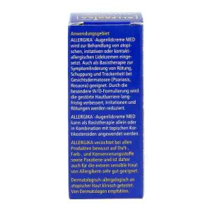 Allergika Augenlidcreme Med (15 ml)