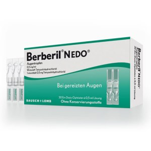 Berberil N Edo Augentropfen (30X0.5 ml)