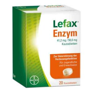 Lefax Enzym Kautabletten (20 stk)