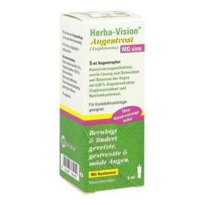 Herba-vision Augentrost Md sine Augentropfen (5 ml)