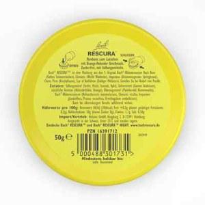 Bachblüten Original Rescura Past.orange-holunder (50 g)