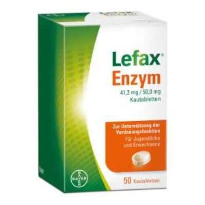 Lefax Enzym Kautabletten (50 stk)