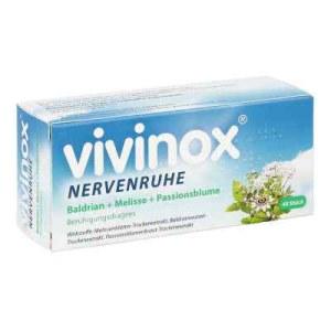 Vivinox Nervenruhe Baldr.+mel.+passion.beruh.drag. (40 stk)