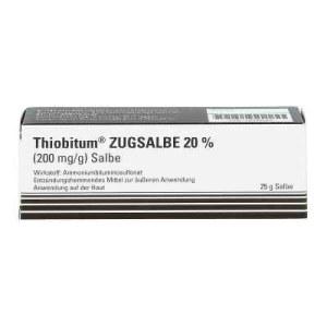Thiobitum Zugsalbe 20% 200 mg/g Salbe (25 g)