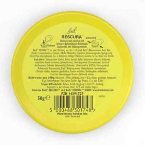 Bachblüten Original Rescura Past.schw.johannisb. (50 g)