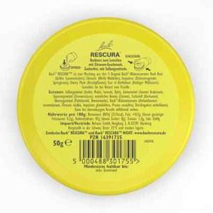 Bachblüten Original Rescura Pastillen Zitrone (50 g)