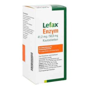 Lefax Enzym Kautabletten (100 stk)