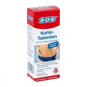 Sos Kohle-tabletten (30 stk)