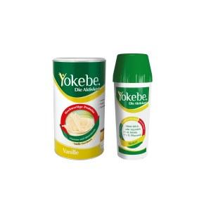 Yokebe Lactosefrei Vanille Starterpaket mit Shaker